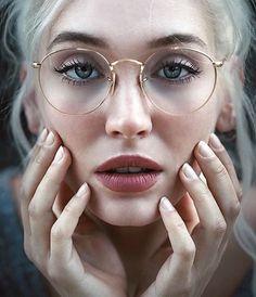 6bad0ca33ba4f The lipstick Óculos Da Moda, Óculos De Grau Feminino, Meninas De Óculos,  Óculos