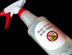 Make your own mosquito repellent spray |