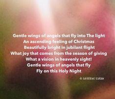 The feeling of #Christmas on this #holynight ❄️ #spiritual #poetry #peace #love #angels #faith #believe #rejoice #joy #joytotheworld