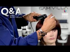 HOW TO TAME FLY-AWAYS + FLAT IRON TRICK FOR SMOOTHING HAIR AT THE ROOTS | Would you like to know two ways in which you can control unruly fly-aways at the root after you've finished an awesome blow dry? This first technique is great for calming fly-aways and imparting shine: http://www.samvilla.com/blog/2013/03/how-to-tame-fly-aways-flat-iron-trick-for-smoothing-hair-at-the-roots/