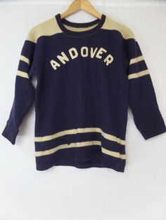 c60389a16a2 Wool Football Jersey ANDOVER  399. Vintage Football ShirtsVintage ...