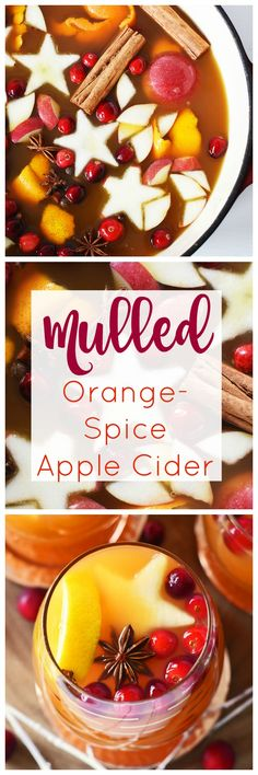 Mulled Orange Spice Cider is perfect for Thanksgiving. Get all the flavors of fall in one warm cup. AD #HowDoYouEmergenC @walgreens