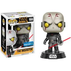 Funko POP! Star Wars Rebels, The Inquisitor, Walmart Exclusive, Multicolor