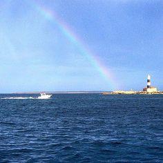 Rainbow in Es Freus