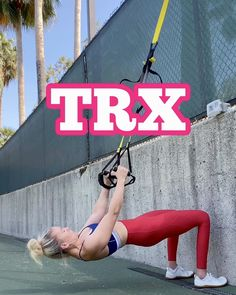 Fitness Workouts, Trx Workouts For Women, Trx Full Body Workout, Gym Workout For Beginners, Easy Workouts, Workout Videos, Pilates Workout, Suspension Training, Suspension Workout