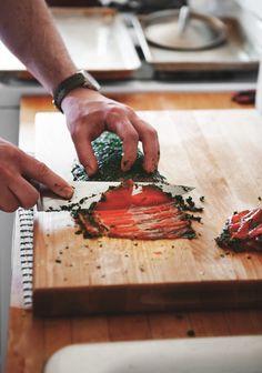 Home Cured Gravlax Superfood Recipes, Veggie Recipes, Real Food Recipes, Healthy Recipes, Food N, Good Food, Seafood Diet, Brunch, Eat Breakfast
