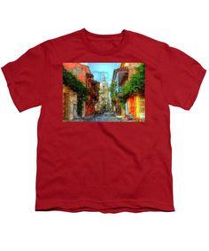 Youth T-Shirt - Heroic City, Cartagena De Indias Colombia