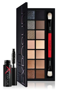 Smashbox FULL EXPOSURE PALETTE | $49 Love that this includes matte shadows!  They work so well to fill in brows in a pinch!