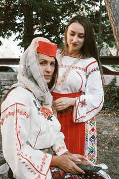 Traditional woman dress from Constanța, Dobrudja Lili Sumanaru & Simona Moon Romania, Lily, Moon, Traditional, Dresses, Fashion, The Moon, Vestidos, Moda