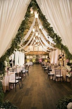 30 rustic barn wedding reception ideas with draped fabric 45 rustic wedding decorations you must have a look country barn wedding with wooden photo display Barn Wedding Decorations, Wedding Themes, Wedding Centerpieces, Wedding Ideas, Wedding Rustic, Wedding Inspiration, Trendy Wedding, Summer Wedding, Ceremony Decorations
