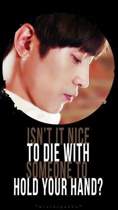 """""""Isn't it nice to die with someone to hold your hand?"""" #또오해영 #AnotherOhHaeYoung #EricMun #에릭 #문정혁 #신화 #SHINHWA #AnotherMissOh"""