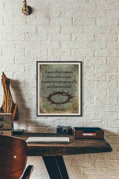 By His wounds we are healed Isaiah 53:5 Printable art digital