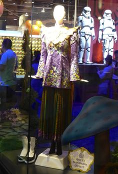 Alice Through the Looking Glass Mandarin costume exhibit D23 Expo