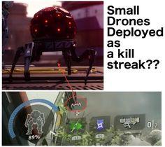 DRONES AS A KILL STREAK??