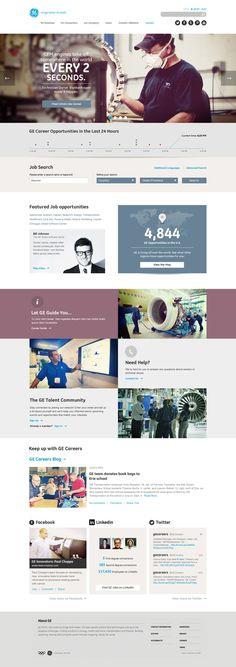 General Electric on Web Design Served