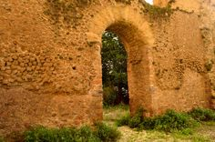 Ancient Rome/ Remains of the Porticus Aemillia, Rome, 174 BC. One of the earliest example of a concrete structure. Roman Architecture, Concrete Structure, Ancient Rome, Vaulting, Roman Empire, Travel Photos, Walls, Construction, Hipster Stuff