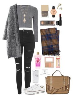 """Untitled #22"" by t-k-amie ❤ liked on Polyvore featuring Brooks Brothers, Topshop, Glamorous, Forever 21, Urban Decay, Nixon, NARS Cosmetics, Converse, Zero Gravity and Happy Plugs"