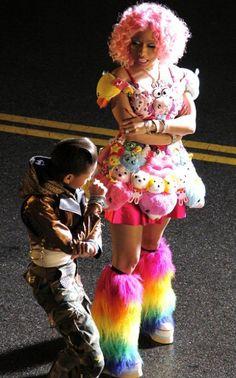 Nicki Minaj outfit from fireball
