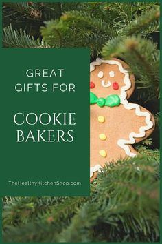 Make quick work of your shopping with these great gifts for cookie bakers. There's something for everyone from beginner to advanced, and even a couple of gadgets that are great for cooking with kids. Just be sure and shop early to beat the shipping rush! #giftsforcookiebakers #kitchengifts #kitchengadgets #kitchengiftideas