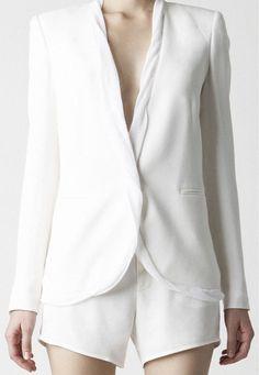 NEED a white blazer!