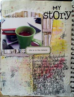 Monday Mugshots/A Year in the Life of an Art Journal April 15...