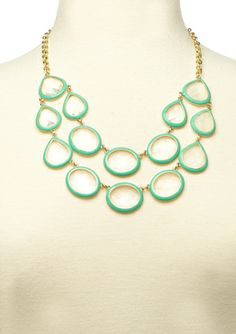 CHELSEY HUFFMAN Round It Out Necklace