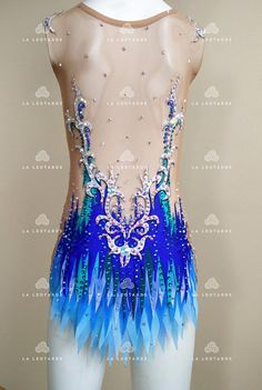 Thank you for your interest in my shop! This item is shown as an example of work I do. Production time may vary. But Ill always do my best to meet your needs. Care Instructions. Hand wash only in cold water. Price may also be adjusted depending on quantity and quality of used crystals. Gym Leotards, Rhythmic Gymnastics Leotards, Dance Outfits, Dance Dresses, Rock And Roll Dresses, Amazing Gymnastics, Show Dance, Figure Skating Dresses, Rockn Roll