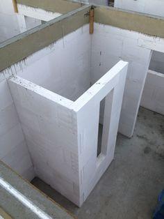 Bildergebnis für walk in dusche gemauert - - - Diy Shower, Walk In Shower, Upstairs Bathrooms, Master Bathroom, Bad Inspiration, Bathroom Images, Bathroom Renovations, Bathroom Interior, Home