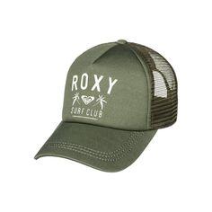 959b18a3a58ac Roxy Truckin Trucker Hat - Olive Surf Companies
