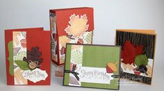 Just Julie B's Stampin' Space: Wonderfall Card Box Set