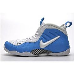 http://www.asneakers4u.com/ Nike Air Penny 2 Womens Basketball Shoes Blue/White