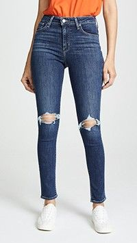 online shopping for Levi's 721 Skinny Jeans from top store. See new offer for Levi's 721 Skinny Jeans Ankle Boots With Jeans, How To Wear Ankle Boots, Skinny Ankle Jeans, Cropped Skinny Jeans, Distressed Skinny Jeans, Super Skinny Jeans, Cuffed Jeans, Casual Jeans, Blank Denim