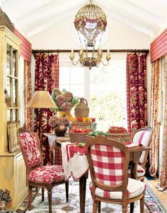 Gorgeous dining room by Hydrangea Hill Cottage