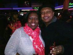 Tameka and Darryl Thompson.. I love this couple..