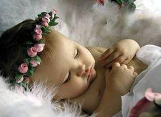 A sleeping angel