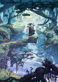 樹海の魔女