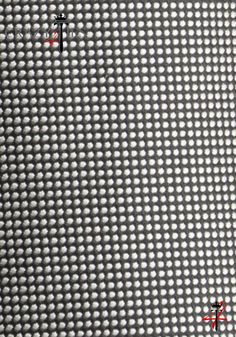Particolare Tessuto Cravatta in Seta Nera Jacquard a Pois Argento molto Fitti