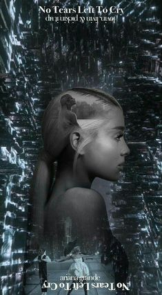 Ariana Grande-no tears left to cry photo.:).