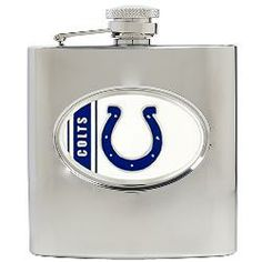 Indianapolis Colts 6oz. Stainless Steel Flask