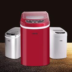 1 UNID 85 W 220 V Hogar máquina de hielo pequeña máquina de hielo comercial leche tienda de té/bar/café tienda de máquina de hielo