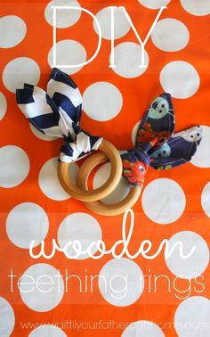 Diy Wooden Teething Ring