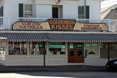 Ice Cream Shop / York Beach, Maine by steveartist, via Flickr