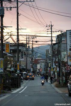Yufuin town/Oita
