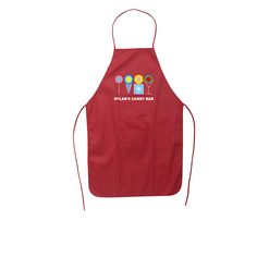 "Made from 100% cotton fabric ( 150 GSM). Features neck strap, adjustable tie waist straps and 5"" H x 6"" W front pocket for convenient storing of necessities. Ideal for cooking classes, food festivals and corporate BBQ's. Ideal #promoproduct for your #household. Evans Manufacturing 