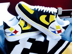For the Steelers and shoe lover!