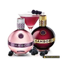 Luxury food & drinks pictures: Premium Chambord Pink Vodka ❤ liked on Polyvore featuring food, fillers, drinks, beauty, perfume and backgrounds