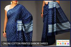 Online Cotton Printed Shibori Sarees  Buy cotton #printed #Shibori #Sarees Online at Best Prices in India. Shop Online for #BagruHandBlock Sarees Store......... For more details visit our website www.bagruhandblock.com.