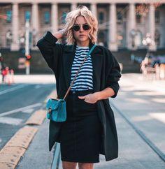 1,902 отметок «Нравится», 64 комментариев — ★ LIAN GALLIARD (@liangalliard) в Instagram: «The black pencil skirt offers endless outfit-possibilities This one's from @nobodydenim, and so…»