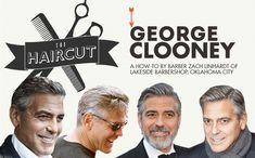 clooney haircut howto