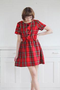 Beautiful tartan dress